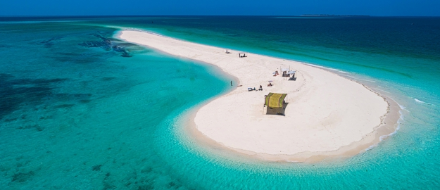 Safari blue Zanzibar - sandbank relaxation